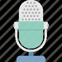 audio, mic, microphone, record, sound icon