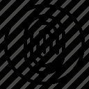 fingerprint, scanner
