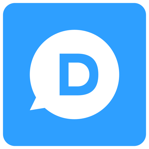 d, disqus icon icon