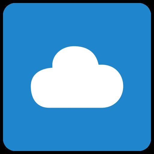 cloud, cloudapp, cloudy, data, server icon