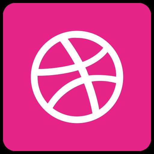 ball, dribbble icon
