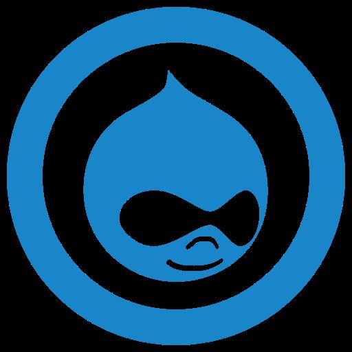 drupal icon icon