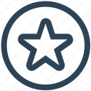 bookmark, favorite, like, network, social, star