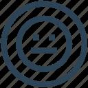 emoji, face, network, serious, social icon