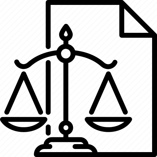 claims, judge, law, require, scale, tribunal icon