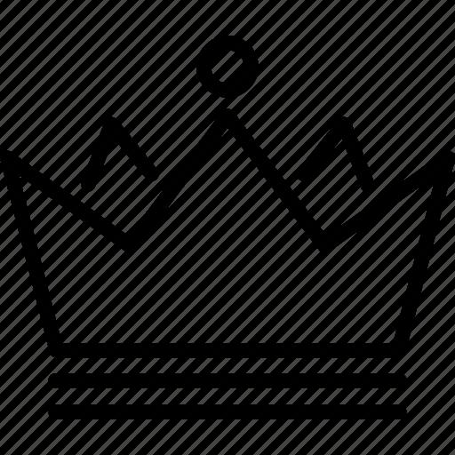 award, crown, emperor, king, queen, royal icon
