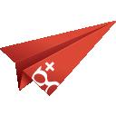 social media, google+, googleplus, paper plane, google plus, origami, + google plus, google icon