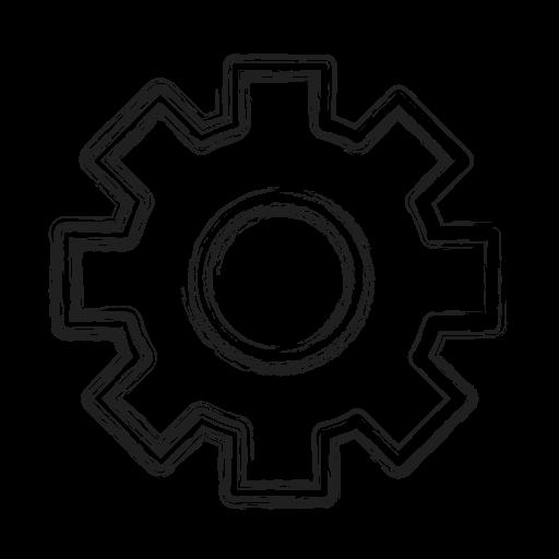 custom, gear, productivity, settings, shape, social icon