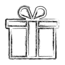 birthday, gift, productivity, shape, social icon