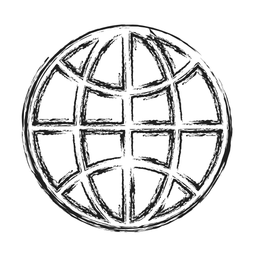 globe, internet, productivity, shape, social icon