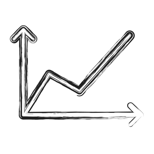 chart, graph, productivity, shape, social icon