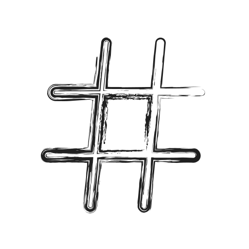 hashtag, hex, productivity, shape, sign, social icon