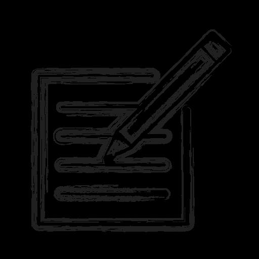 draft, note, productivity, shape, social icon