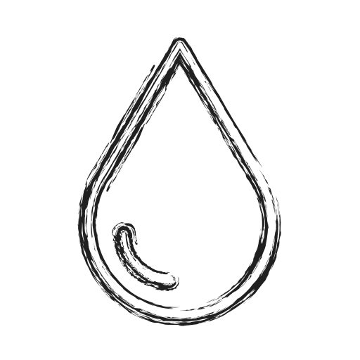 drop, oil, productivity, shape, social, water icon