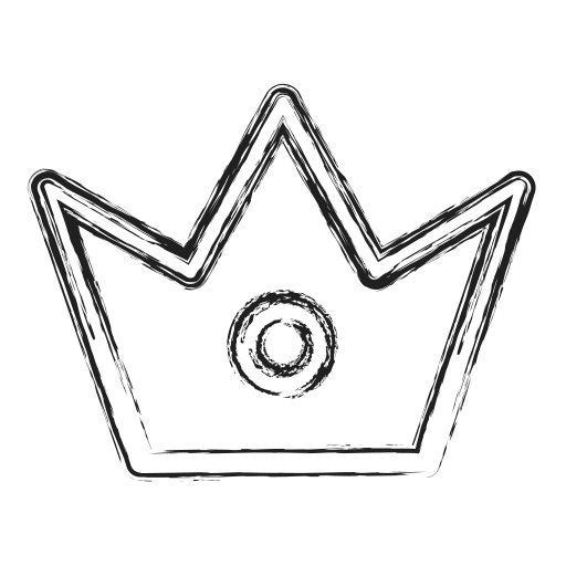 best, crown, king, productivity, royality, shape, social icon
