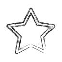 famous, favorite, productivity, shape, social, star icon
