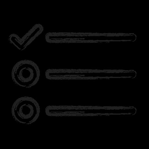 list, productivity, shape, social, survey, tasks icon