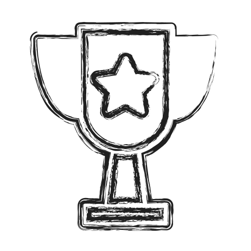 cup, productivity, shape, social, trophy icon