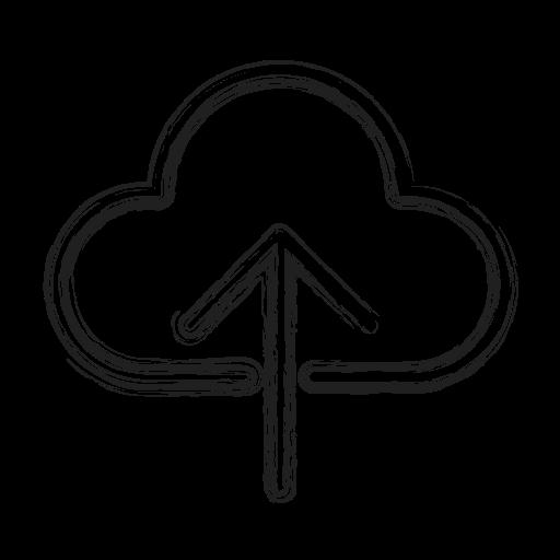 backup, cloud, productivity, shape, social, storage, upload icon