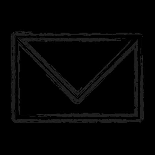 letter, mail, productivity, shape, social icon