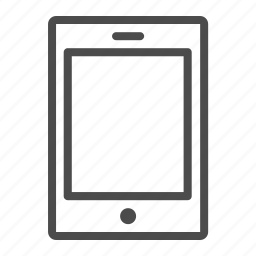 device, ipad, mobile, tablet, technology icon