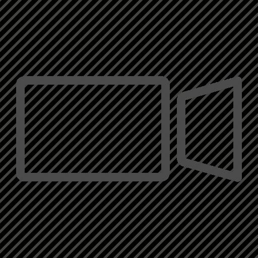 camera, device, film, movie, multimedia, recorder icon