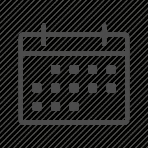 calendar, clock, date, event, schedule, time icon
