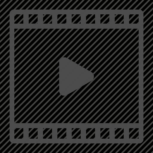 film, movie, music, play, player, video icon
