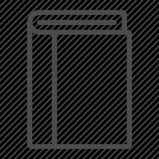 address, book, bookmark, document, education icon