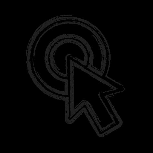 Arrow, clicking, cursor, mose, productivity, shape, social icon - Free download
