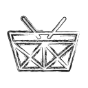 basket, buy, checkout, productivity, shape, social icon