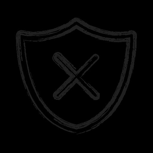 Block, productivity, shape, shield, social icon - Free download
