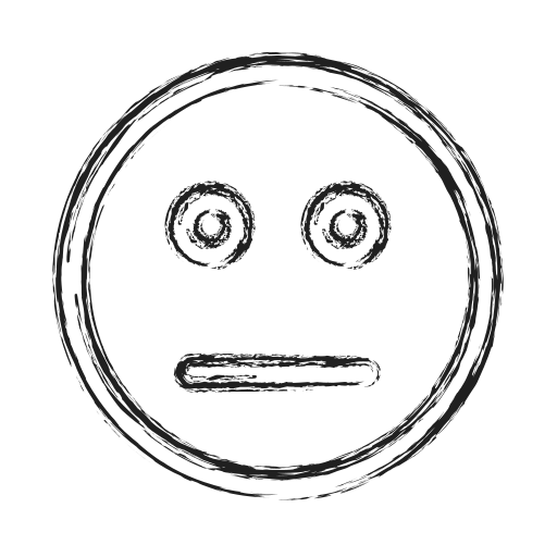 Boring, face, productivity, shape, smiley, social icon - Free download