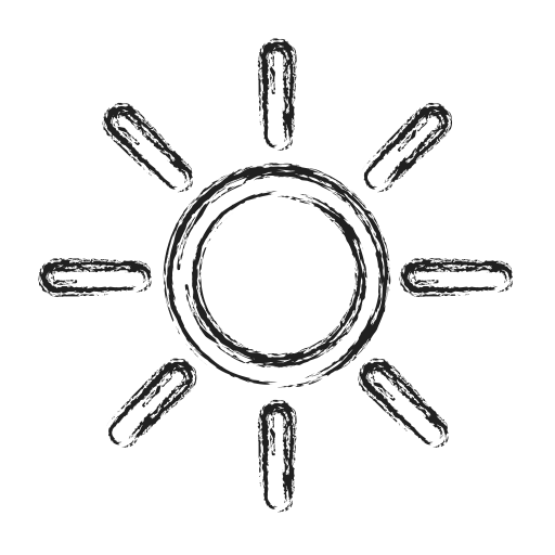 brightness, productivity, shape, social icon
