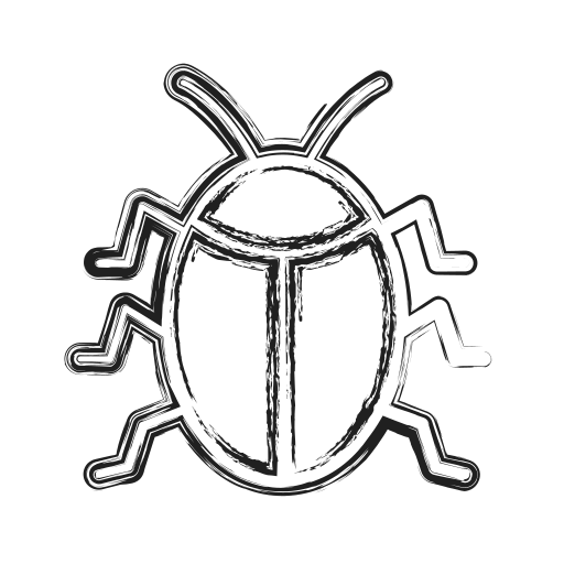 Bug, insect, productivity, shape, social icon - Free download