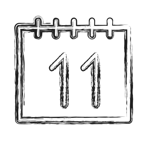 calendar, productivity, shape, social icon