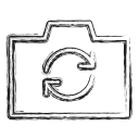 camera, photograph, productivity, shape, social, swap icon