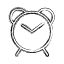 clock, productivity, shape, social, timer