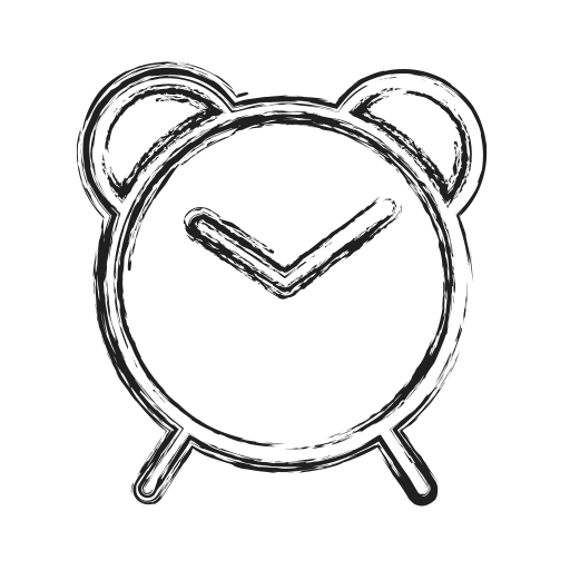 clock, productivity, shape, social, timer icon