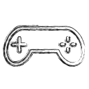 controller, game, gamer, productivity, shape, social icon
