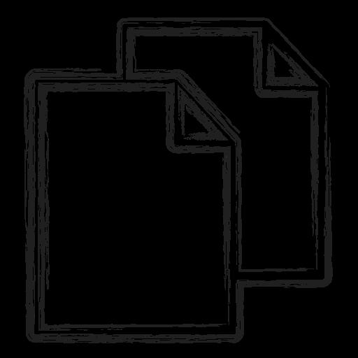 Copy, duplicate, file, productivity, shape, social icon - Free download