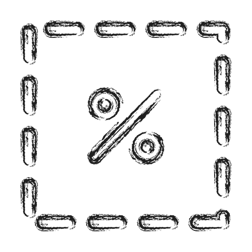 cut, productivity, shape, social icon