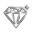 diamond, gem, jewelry, productivity, shape, social, treasure icon