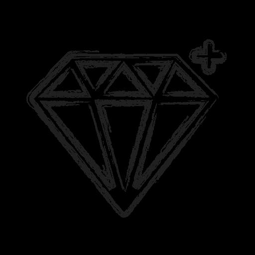 diamond, gem, jewelry, productivity, shape, social, treasure icon