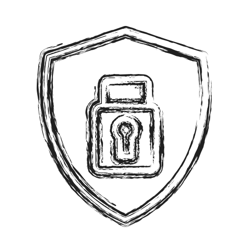 Encryption, productivity, safe, secure, shape, social icon - Free download
