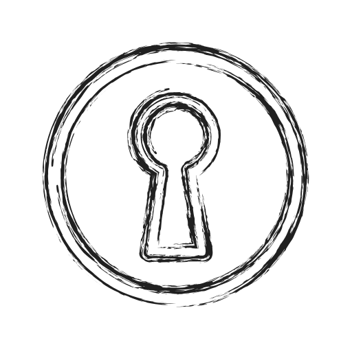 Access, door, key, open, productivity, shape, social icon - Free download