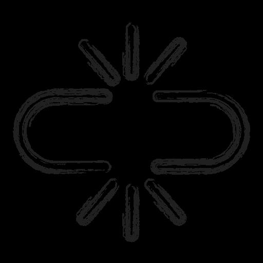 Broken, link, productivity, separate, shape, social icon - Free download