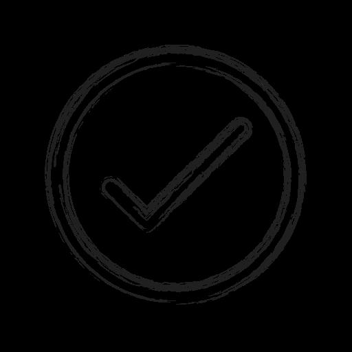 approve, checkmark, productivity, shape, social icon