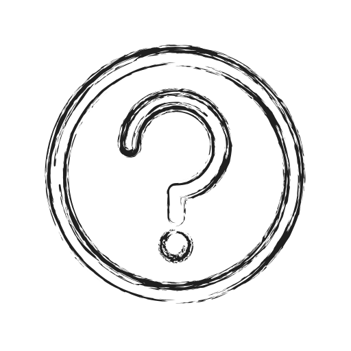 faq, help, productivity, shape, social icon