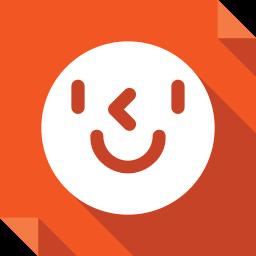 cyworld, logo, media, social, social media, square icon